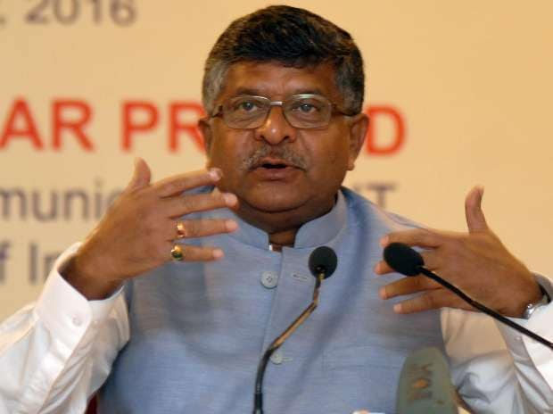 Ravi Shankar Prasad, IT