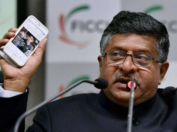 Self-regulation is for self-satisfaction of companies :    Ravi Shankar Prasad, Minister for Communications & Information Technology