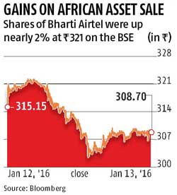 Airtel to sell 2 African operations to Orange