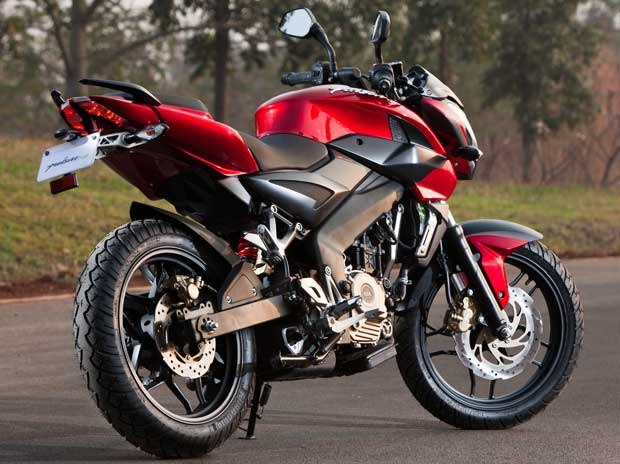 Bajaj flexes Pulsar's muscles