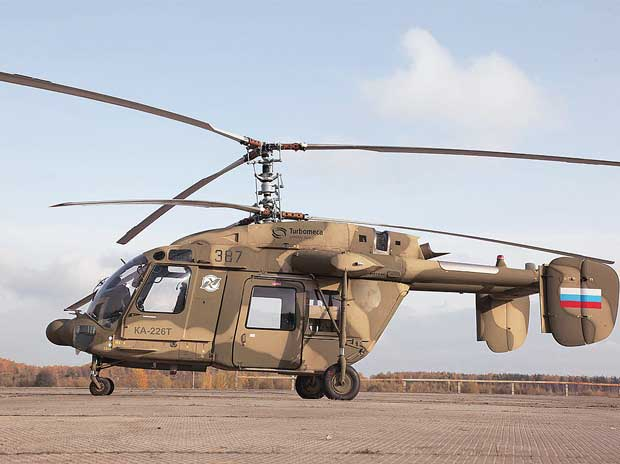 'Make in India' challenge for Kamov helicopter