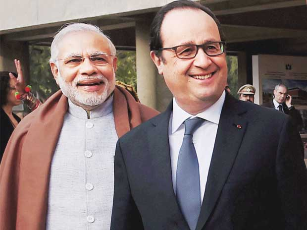 France will partner India to build three 'smart' cities