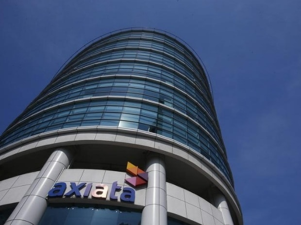 The Axiata headquarters building is seen in Kuala ...