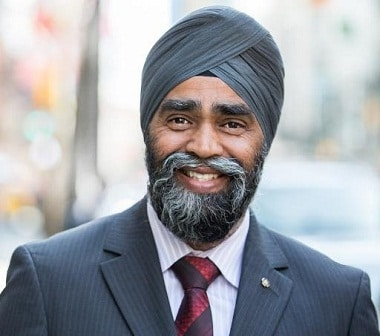 Harjit Sajjan  (Photo: Twitter)