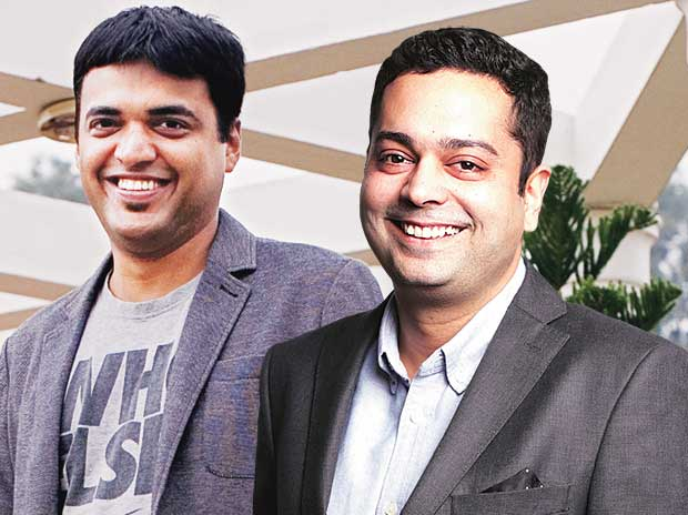 Zomato co-founders Pankaj Chaddah (right) and Deepinder Goyal's efforts to streamline operations over the past few months are yielding results