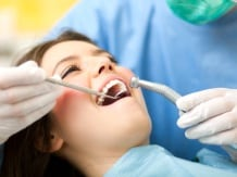 Dental clinic image via Shutterstock.