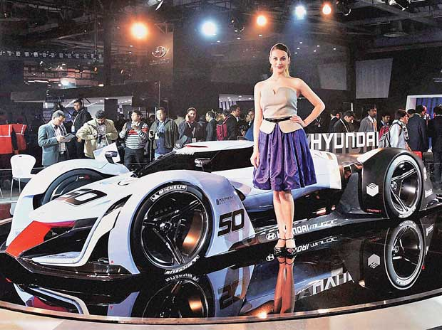 With a little over 5.26 lakh visitors, Auto Expo fails to pull crowds