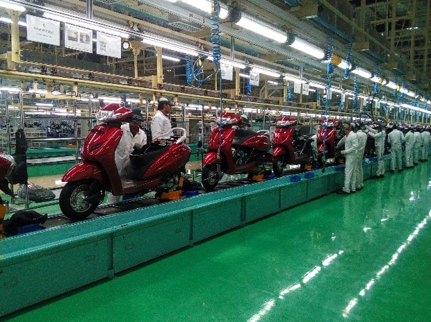 The Honda Motorcycle Scooter India Plant At Vithalapur Near Mehsana Gujarat
