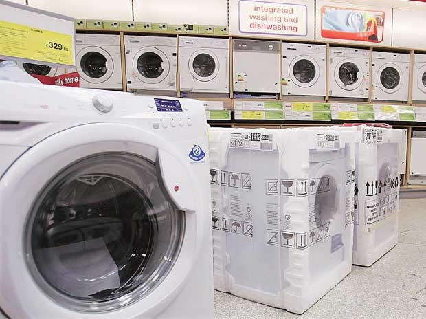 White goods companies seek lower tax & higher government pay