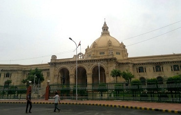 BJP walks out from UP House over 'non-compliance' with RTE