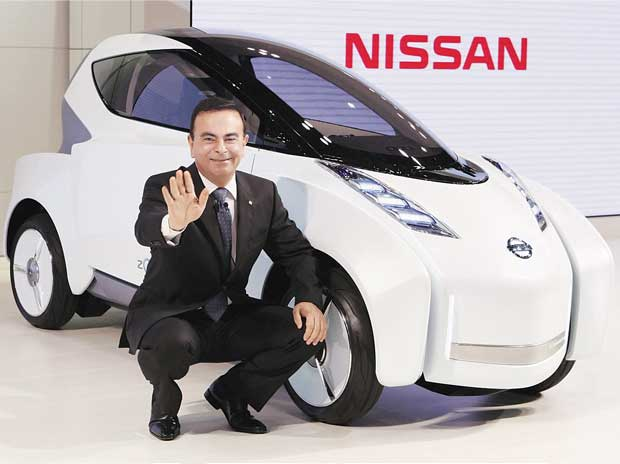 Carlos Ghosn, CEO of Renault and Nissan