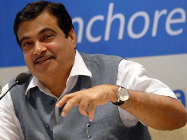 File photo of Nitin Gadkari. Photo: Kamlesh Pednekar