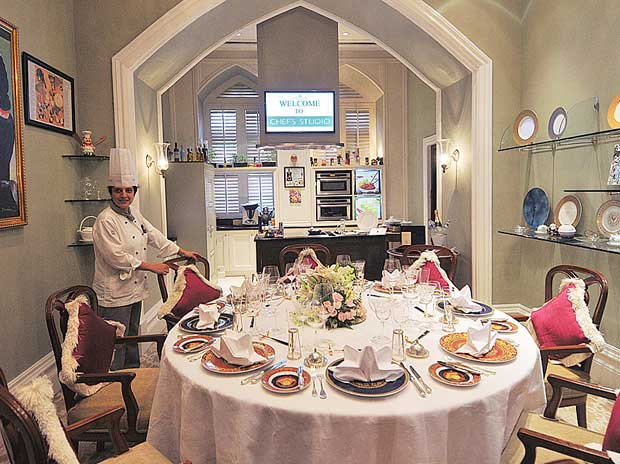 Chef's Studio at the Taj Mahal Palace Hotel in Mumbai