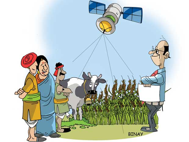 Satellite mapping to boost dairy farming