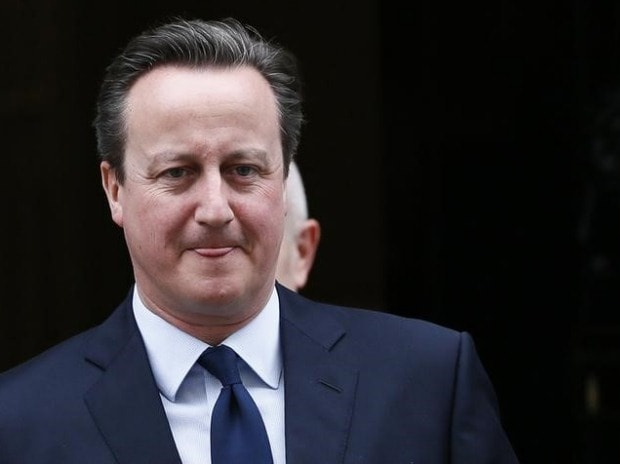 Britain's Prime Minister David Cameron leaves Number 10 Downing Street in London