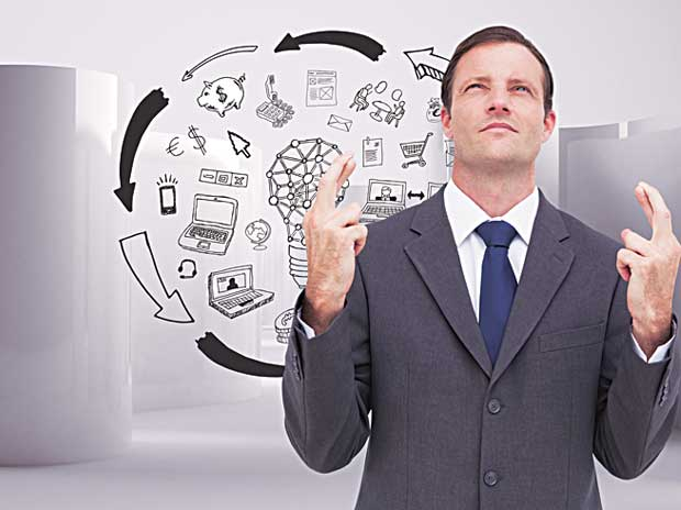 Managers undermining role of luck in success or failure of a business