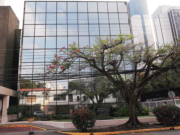 The Arango Orillac Building where the Mossack Fonseca law firm is situated in Panama