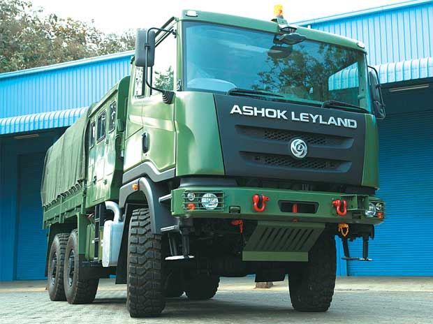The Stallion has been the most successful product from Ashok Leyland's defence arm so far