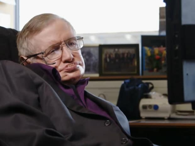 British astrophysicist Stephen Hawking. | Photo: Youtube