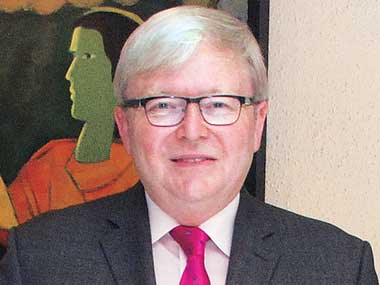 Ex Australia Pm Kevin Rudd Wants Top Un Job Business Standard News
