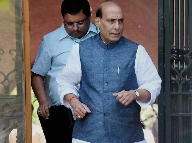 Union Home Minister Rajnath Singh  PTI