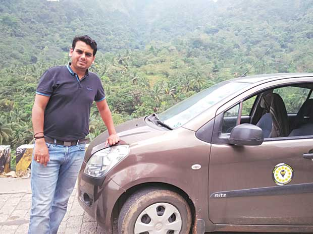 Rajesh G (pictured) founded highwaydelite along with four others