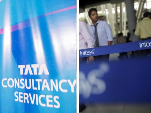 TCS, Infosys trade firm ahead of Q3 results