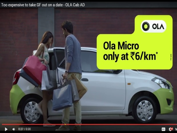 Ola pulls 'sexist' ad after viewers' backlash