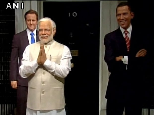 PM Narendra Modi's wax statue unveiled at Madame Tussaud's Museum  ANI