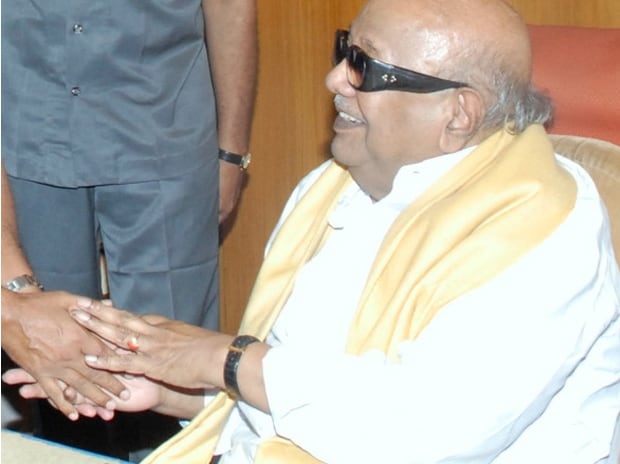 M Karunanidhi, chief, Dravida Munnetra Kazhagam. Photo: Wikipedia