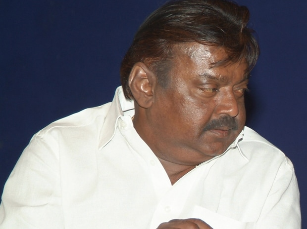 DMDK Chief Vijayakanth. Photo: Wikipedia