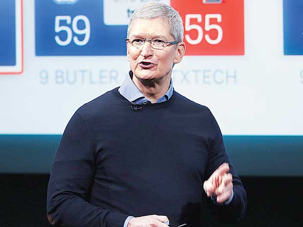 Apple's Tim Cook to visit China for govt meetings