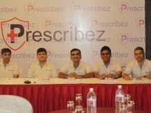 ThingsMeet officials at the launch of Prescribez