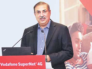 Vodafone India MD and CEO Sunil Sood