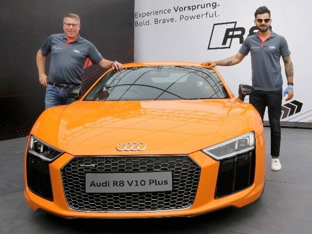 Audi Showcases Fastest Most Powerful Production R V Plus At Rs - Audi car r8 price in india