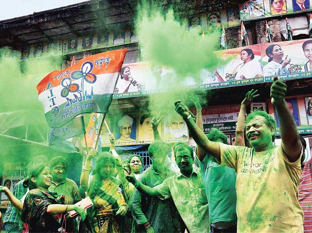 Mamata magic powers Trinamool to record tally