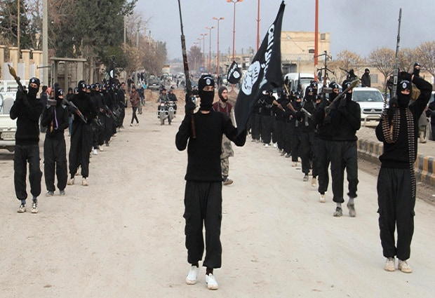 Representative Image of Islamic State fighters