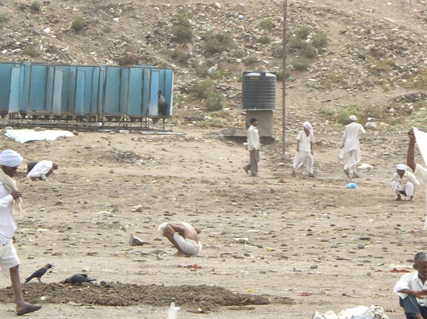 A file picture of open defecation. Photo: Wikipedia
