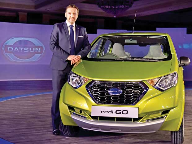 Guillaume Sicard, president, Nissan India Operations, hopes redi-Go will help steer Datsun into the fast lane