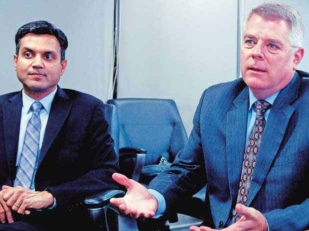 We're optimistic about Modi govt's ability to deliver :   Anant Maheshwari, President, Honeywell India and Steve Gimre, MD, UOP India