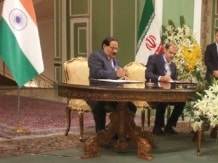 Nalco CMD and Iran's VC - Planning Board signing ...