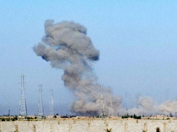 A wave of bombings claimed by the Islamic State group targeted commercial areas in and around Baghdad