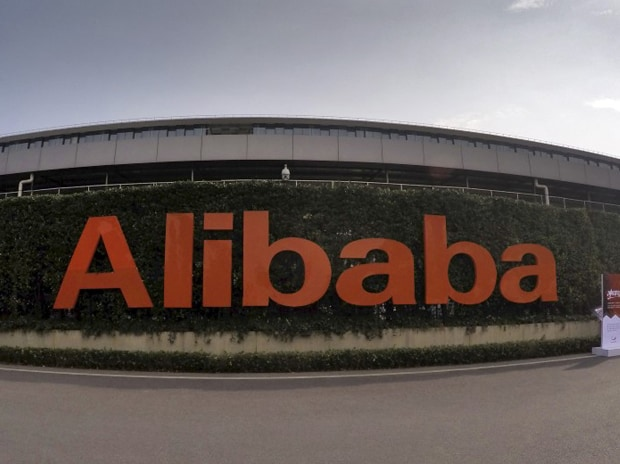 A logo of Alibaba Group is pictured at its headquarters in Hangzhou, Zhejiang province, China. Photo: Reuters