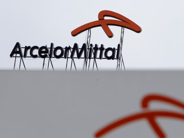 A logo is seen on the roof of the ArcelorMittal steelworks headquarters in Ostrava, Czech Republic. Photo: Reuters
