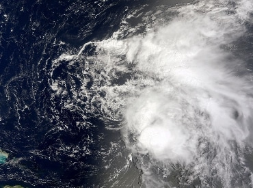 Tropical Storm Colin on August 5, 2010. (Photo: Wikipedia)