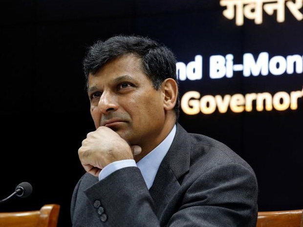 RBI Governor Raghuram Rajan at the news conference after the bi-monthly monetary policy review in Mumbai. Photo: Reuters