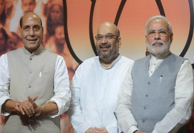 Modi, Shah offered BJP's UP CM candidate post to Rajnath Singh