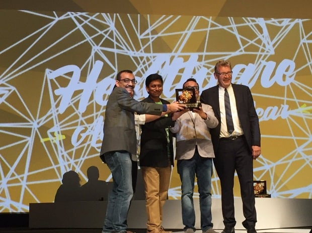 Medulla Communications team with 'Healthcare Agency of the Year' title at Cannes Lions