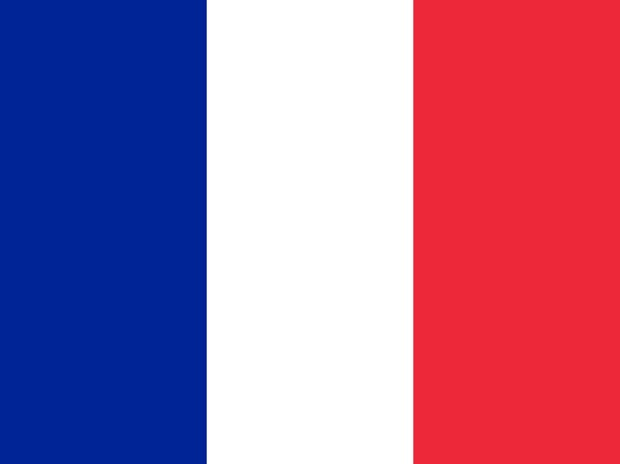Flag of France  Source: Wikipedia