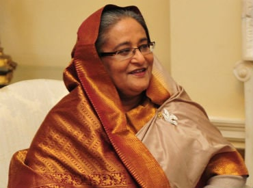 Sheikh Hasina.Photo courtesy: Wikipedia